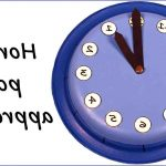 Comment apprendre à lire l'heure avec les aiguilles ?