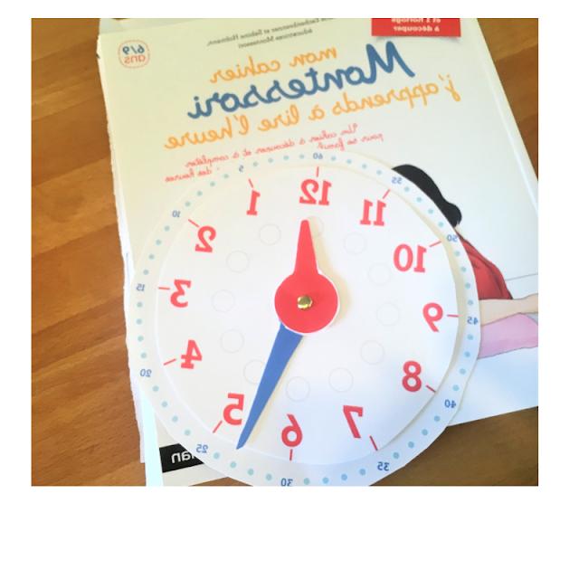 Comment apprendre l'heure en maternelle ?