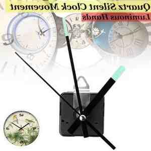 Comment remettre les aiguilles d'une horloge ?