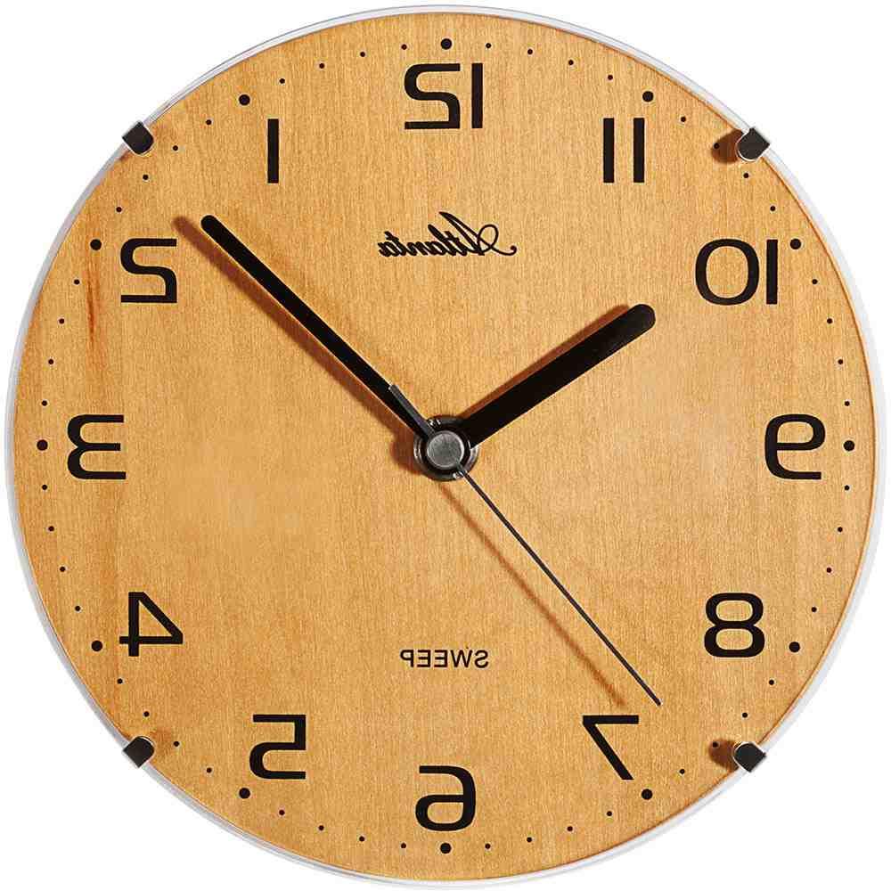 Comment savoir si une horloge est silencieuse ?
