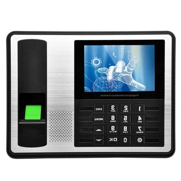 installation pointeuse biometrique